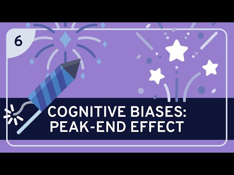 CRITICAL THINKING - Cognitive Biases: Peak-End Effect [HD]