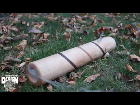 Making A Wooden Steamroller Pipe