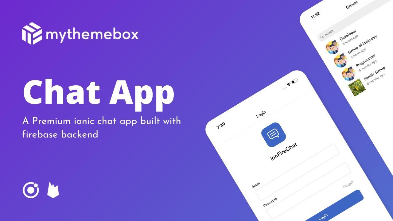 Ionic Firebase Chat