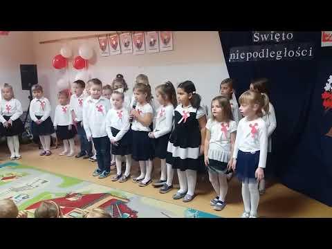 100. rocznica odzyskania przez Polskę Niepodległości w Przedszkolu Bajka w Krotoszynie