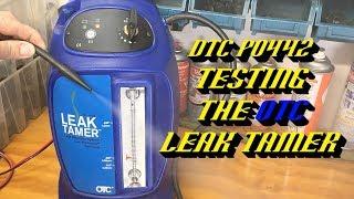 Ford Evap System Leak Testing w/ OTC Leak Tamer: DTC P0442 Small Evap Leak