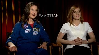 Jessica Chastain Reveals Her Training for THE MARTIAN