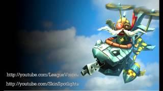 코르키 (Corki) Voice - 한국어 (Korean) - League of Legends
