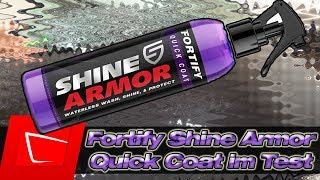 😡Leider die Wahrheit! Shine Armor Fortify Quick Coat Ceramic Waterless Wash, Shine & Protect