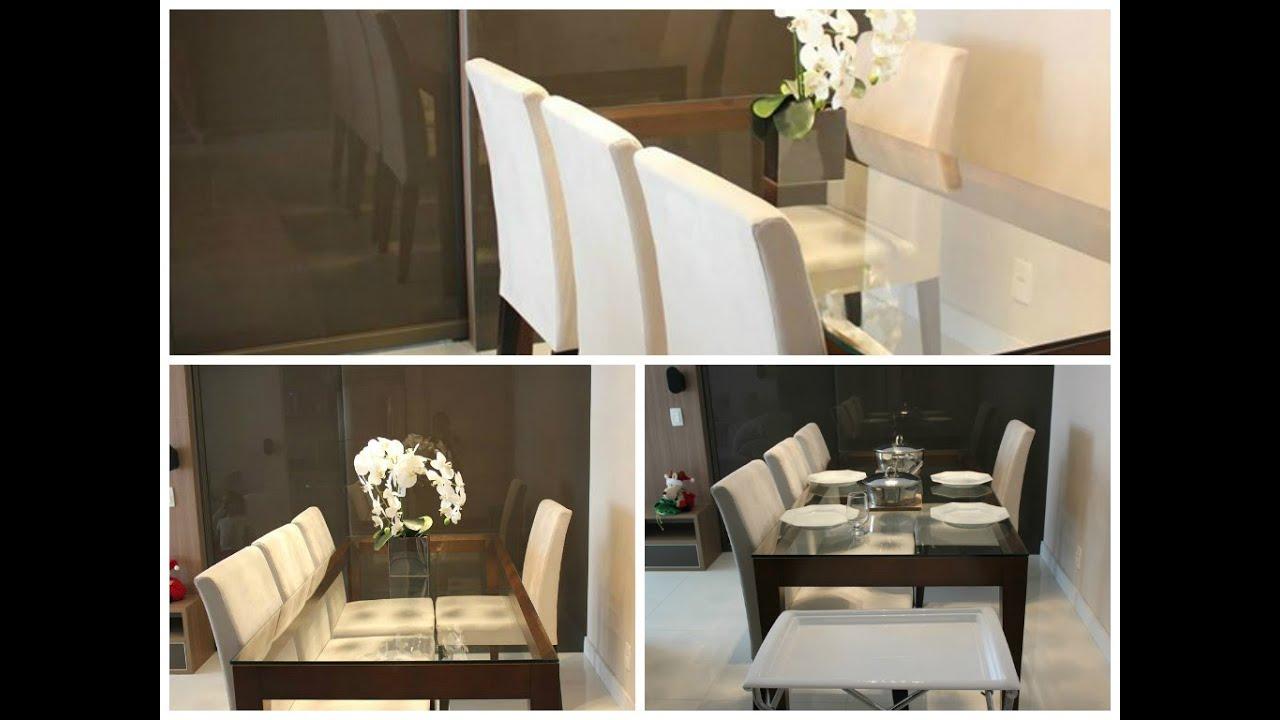 Sala de jantar pequena em apto youtube for Mesas para apartamentos pequenos