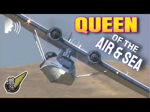 WW2-Era Catalina Flying Boat  Low & Loud