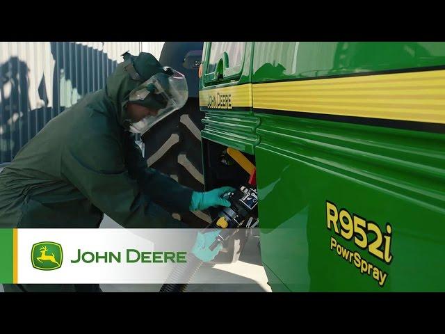 PowrSpray John Deere - Remplissage rapide et facile