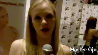 Interview with the cutie Porn Princess Tracey Sweet at AEE 2013