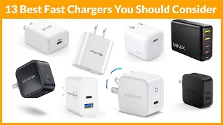 Top 13 Best Fast Chargers that you should consider buying on amazon
