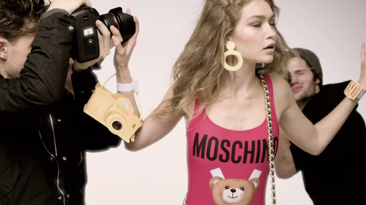 Moschino spring 2017 ad campaign