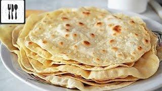 Лаваш для шаурмы, шавермы, донера, дюрюма - Как сделать лаваш /турецкая лепешка/дома.
