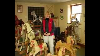 Rocking Horses Handmade At The Rocking Horse Shop, Fangfoss, York England
