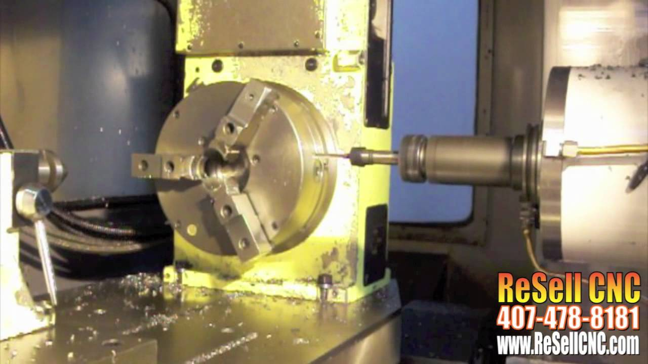 Mazak FH680 CNC Horizontal Mill For Sale - ReSell CNC
