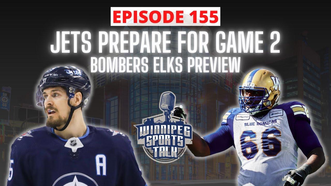 Download Winnipeg Jets prepare for San Jose Sharks on Saturday,  Blue Bombers take on Edmonton Elks tonight