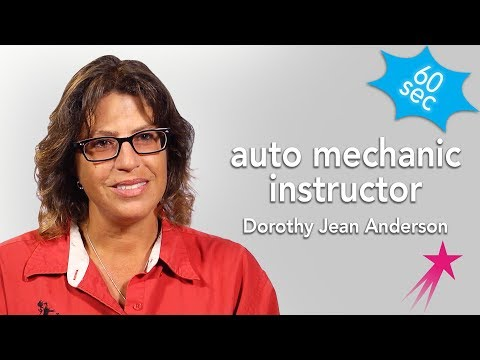 Auto Mechanic Instructor | Dorothy Jean Anderson | 60 Seconds