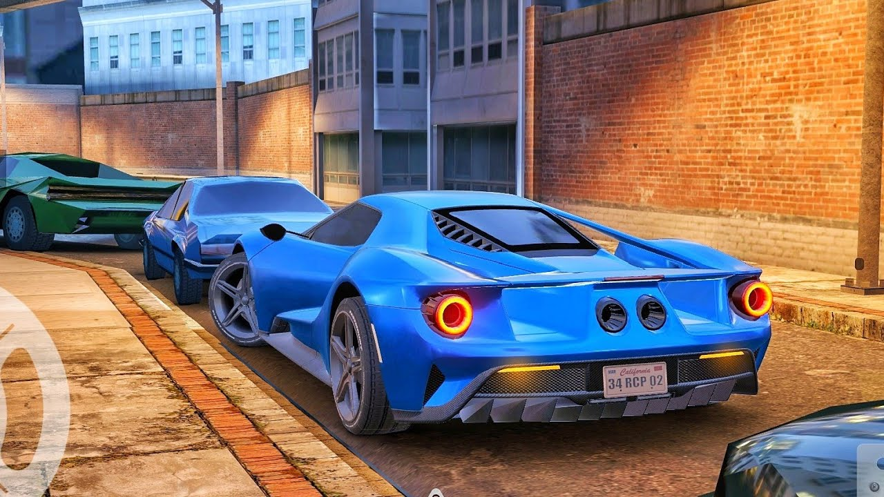 Real Car Parking 2 - Ford GT Car Driving - Car Games Android Gameplay
