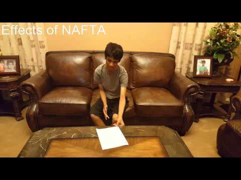 BASIS Chandler APUSH nation project// NAFTA and the American Economy Abroad