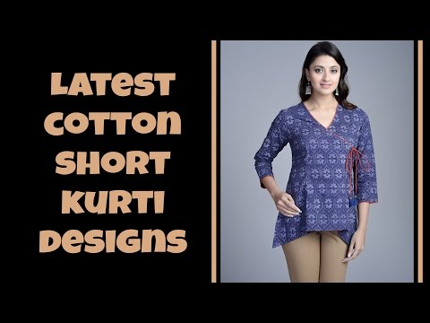 Cotton Short Kurti Designs Part: 01