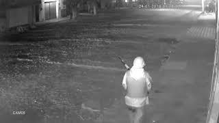 Bando invade  município de Varjota para assaltar banco