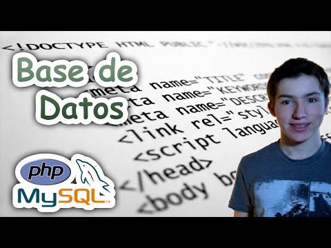 Tutorial HTML, PHP Y SQL- Base De Datos - Parte 1