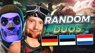 OG Skull TROOPER & Renegade RAIDER VEREINT 😱   Random Duos    Fortnite Battle Royale