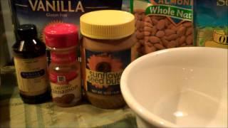 No Bake Vegan Gluten Free Chocolate Chip Protein Granola Bars.wmv