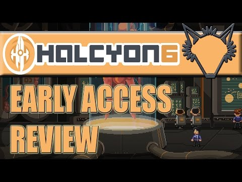Review   Halcyon 6: Starbase Commander   A Deep, Fun, Humorous Space RPG   Early Access Steam Game