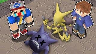 Minecraft Pokémon #15: O DIA QUE EU FUI COMPLETAMENTE HUMILHADO NO GINÁSIO POKÉMON!