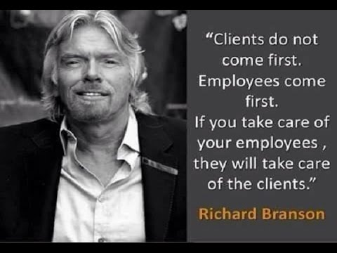 Image result for richard branson quotes staff