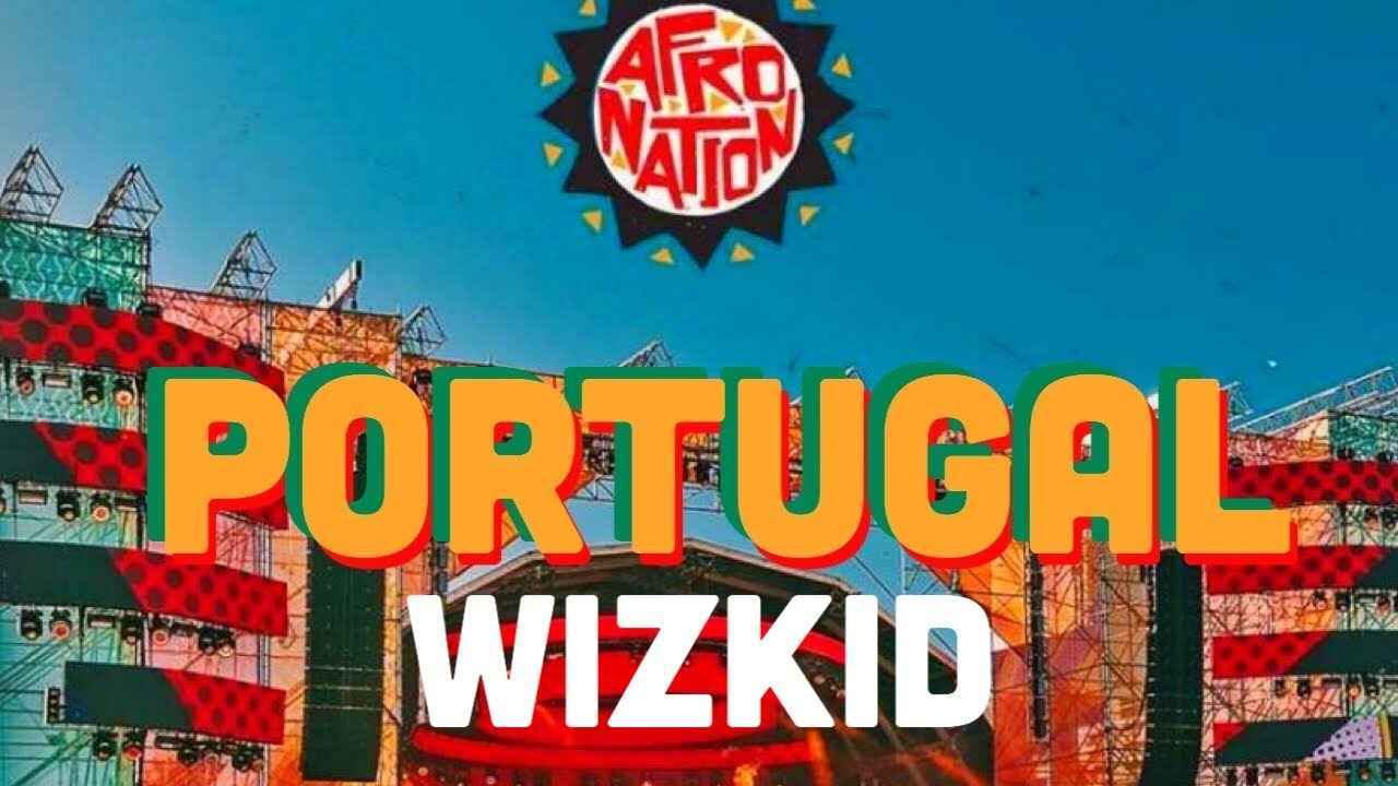 Wizkid - Daddy Yo Live At Afro Nation Festival 2019 (Crowd Surfing)