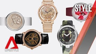 From mysterious felines to comic book characters: Watches with artsy dials | CNA Lifestyle