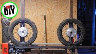 Sliders & Band Wheel Shafts - Band Sawmill Build #14