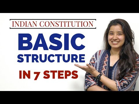 Basic Structure of Indian Constitution | In 7 Steps | Indian Polity