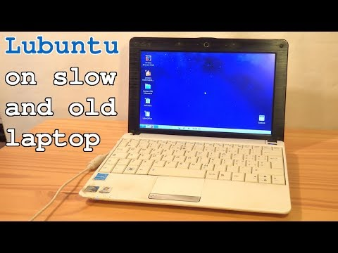 Lubuntu On Asus Eee PC 1001PX