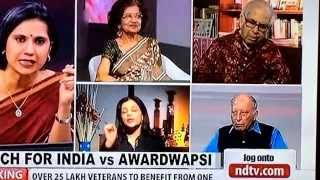 shazia ilmi exposes the hypocrisy behind award wapsi slams ndtv sickulars media crooks