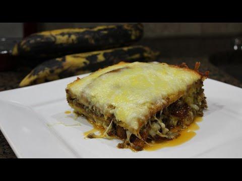 How to make Puerto Rican Pastelon