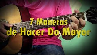 como hacer un acorde do mayor c en la guitarra acustica   7 maneras