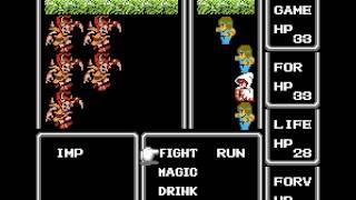 Final Fantasy - Final Fantasy (NES / Nintendo) - Battle theme - User video