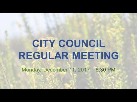 Malibu City Council Meeting December 11, 2017
