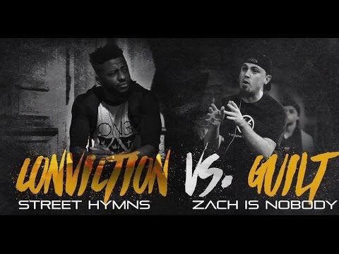 SLAP Battles: Conviction vs Guilt (Street Hymns vs Zach Is Nobody) | Bars Over Bridges 2