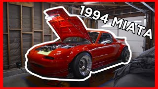 homepage tile video photo for AEM AFR & BOOST Gauge Installation on GORGEOUS 94 MIATA!