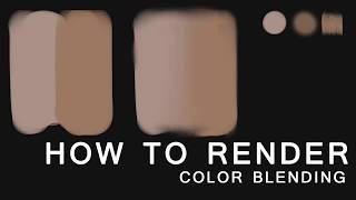 [ For beginner] How to do rendering in Photoshop