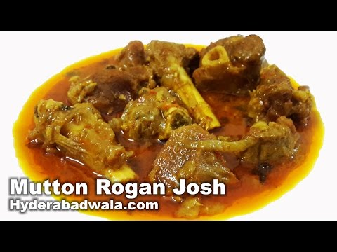 Mutton Rogan Josh Recipe Video - How to Make Hyderabadi Buttery Mutton Curry at Home - Easy & Simple