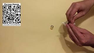 Бижутерия. Кольца с украшением Розочка различных цветов. Посылка из китая