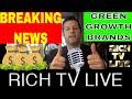 BREAKING NEWS - GREEN GROWTH BRANDS (OTC: GGBXF) (CSE: GGB)