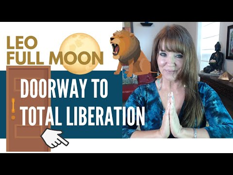 Twin Flame Energy Update ~ Leo Full Moon January 28, 2021 ~ The Doorway to Liberation!