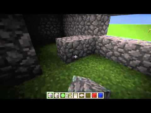 Construction poste police Minecraft