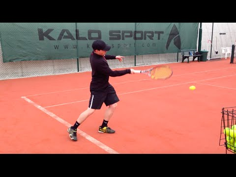 How to hit a topspin forehand