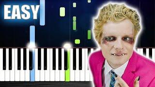 Ed Sheeran - Bad Habits - EASY Piano Tutorial by PlutaX
