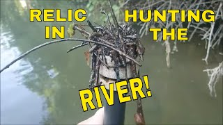 Metal Detecting Relics In The River With The Chigg